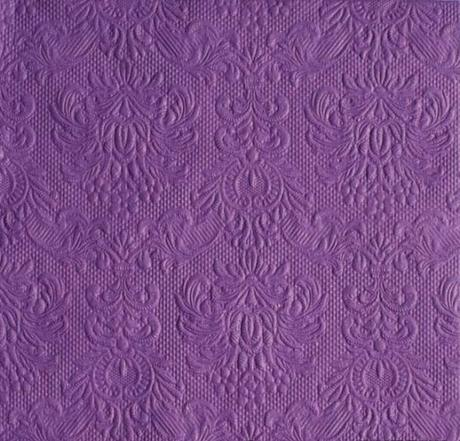 Reliéfne servítky purple,