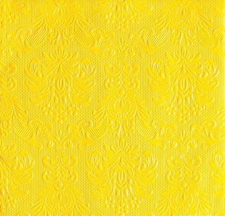 Reliéfne servítky yellow,