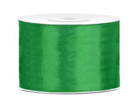 Saténová stuha smaragdová 50mm,