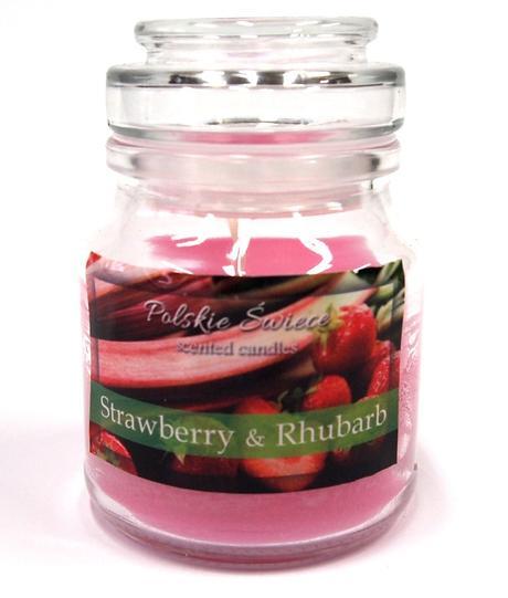 Sviečka jahoda a rebarbora - armonatická,