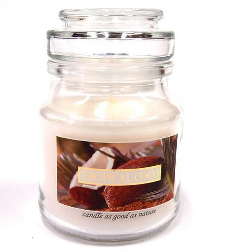 Sviečka kokos - aromatická,