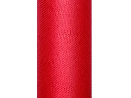 Tyl červený 30cm,