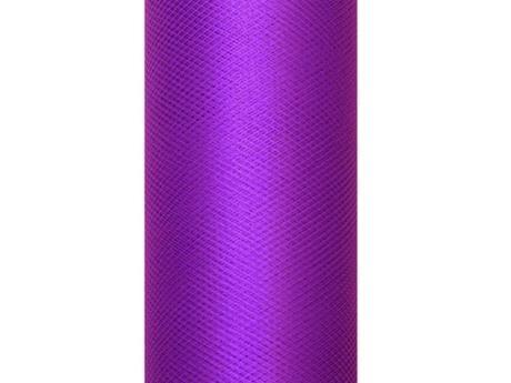 Tyl fialový 30cm,