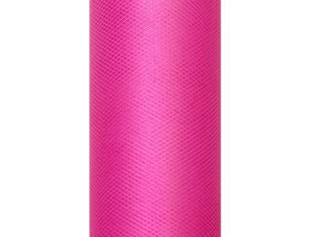 Tyl ružový sýty 15cm,