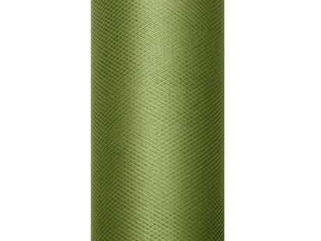 Tyl zelený 15cm,