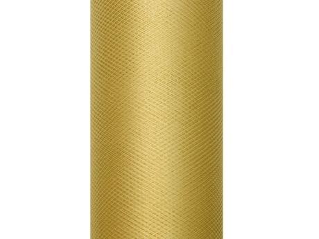 Tyl zlatý 15cm,