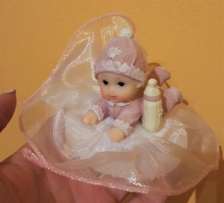 Figurky na dort k narození dítěte,
