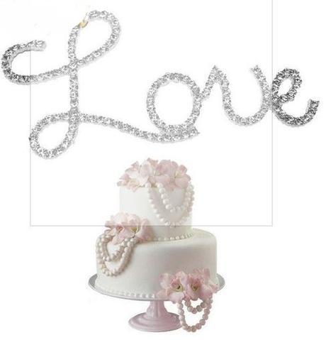 Ozdoba na dort - Love,