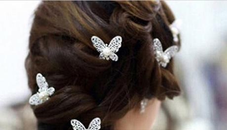 Ozdoby do vlasů - motýlci,