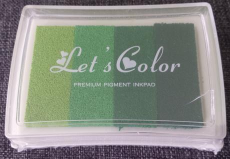 Razítkovací barva - na otisky prstů,