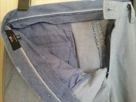 Mužské nohavice, čislo 182/42, 42