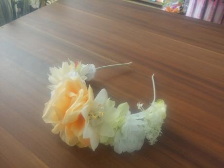 Kvetinové čelenky,