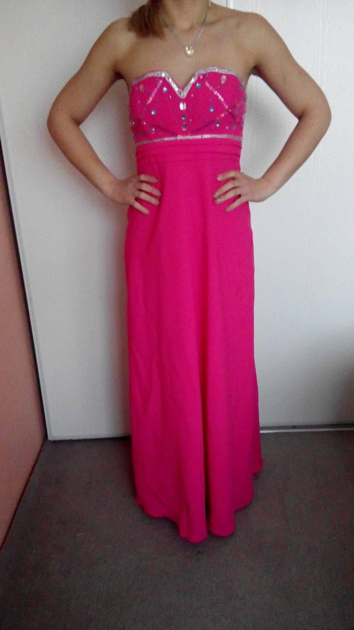 dd7efa999ea Růžové šaty