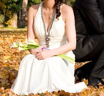svadobné alebo spoločenské šaty S, 36