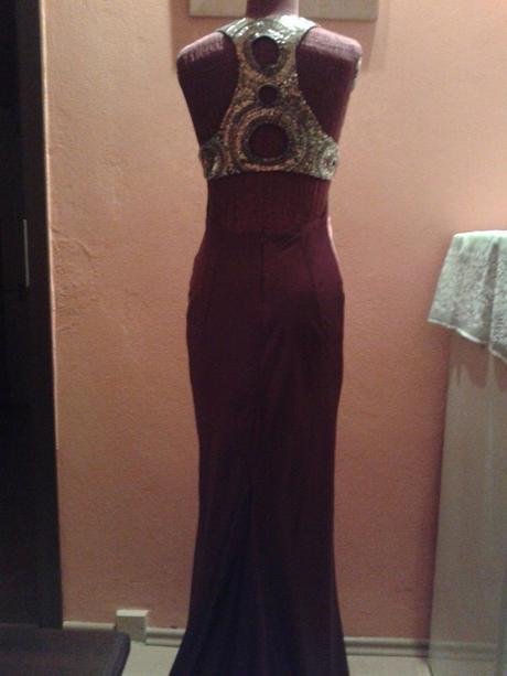 Spoločenské šaty so sakom, 36