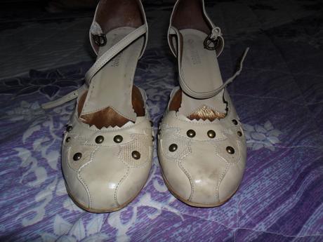 bežové topánky, 40
