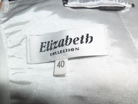 bielo sive saty-Elizabeth, 40