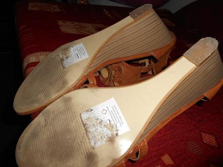 hnede sandalky, 40