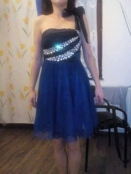 Modre saty s kamienkami, 38