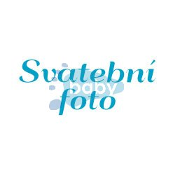 Razítko nápis Svatební foto 39_2  výška písma 1cm,