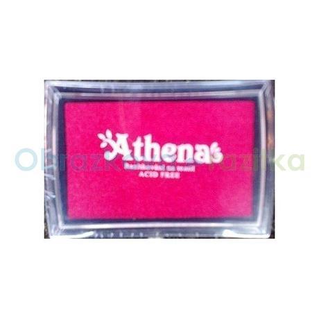 Razítkovací polštářek na textil růžová,