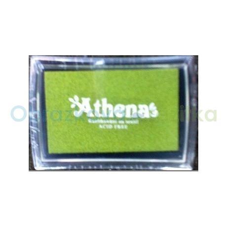 Razítkovací polštářek na textil zelená světlá,