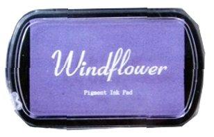 Razítkovací polštářek Windflower fialová lila,