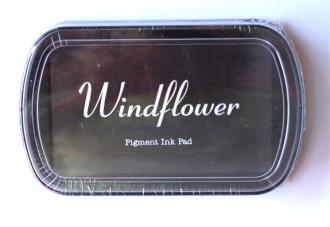 Razítkovací polštářek Windflower hnědá,