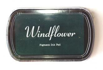 Razítkovací polštářek Windflower zelená tmavá,