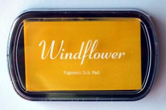 Razítkovací polštářek Windflower žlutá,