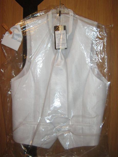 3 dielna pánska svadobná vesta, 48