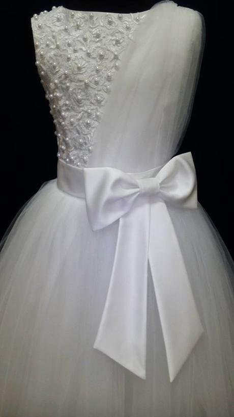 detské šatky na svadbu, sv.príjmanie, 140