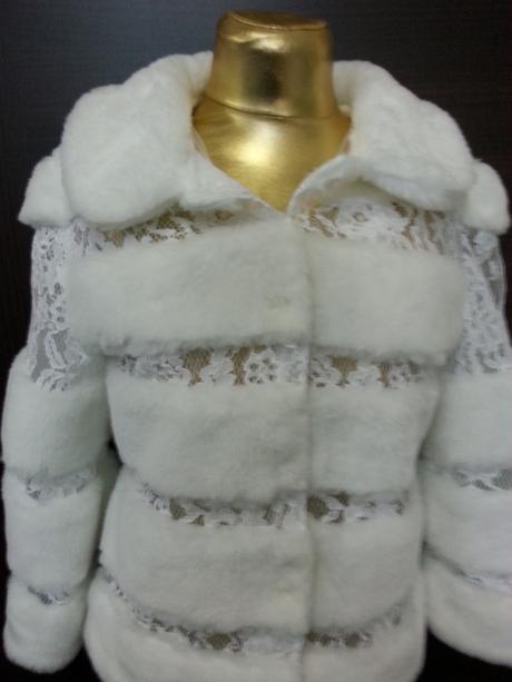 Kabátik na svadbu . Šijeme na mieru ,