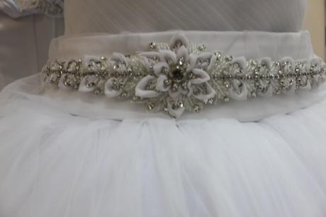 Opasok na svadobné šaty ,