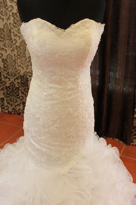 svadobné šaty ihneď k odberu. , 40