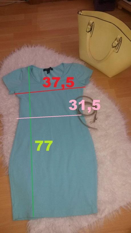 Super pohodlné tričkové šaty Amisu - veľ. 34, 34