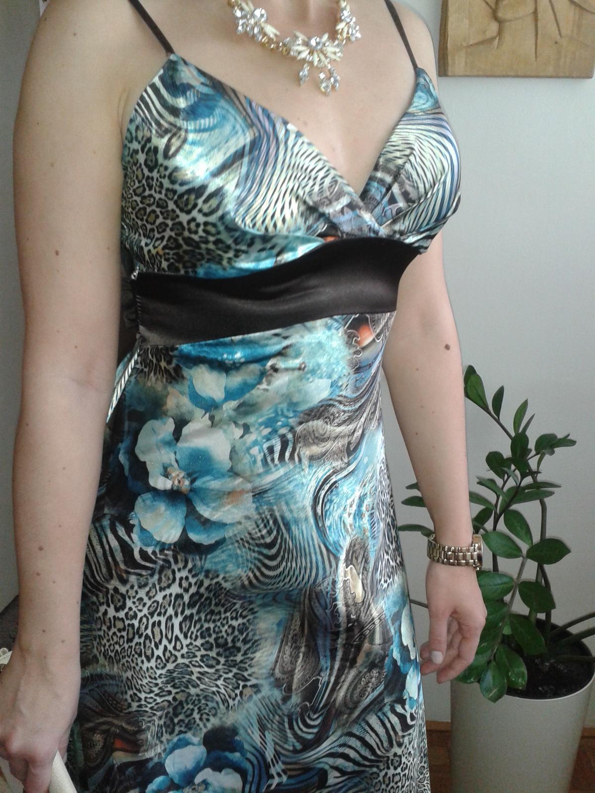 59484a17010a Kvetovo - tigrované šaty
