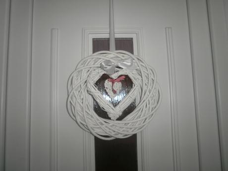 Svadobný veniec na dvere,