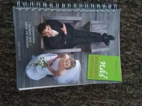 Kniha Náš svatební průvodce,