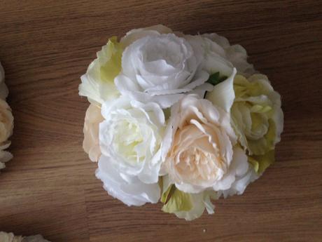 Dekoračné kytice (predané),