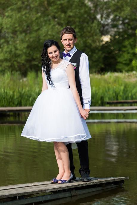 Krátké Svatební šaty , 34