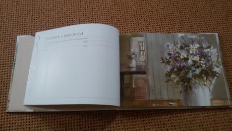 Svatební kniha hostů - Helen Exley,