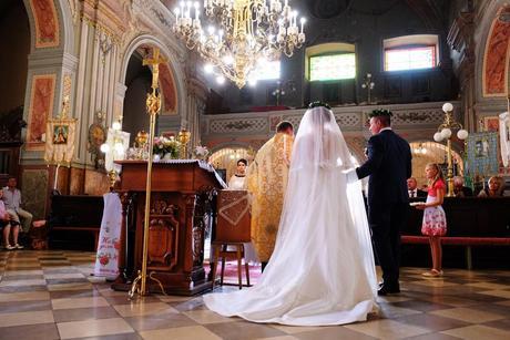 svadobné šaty + závoj, 40