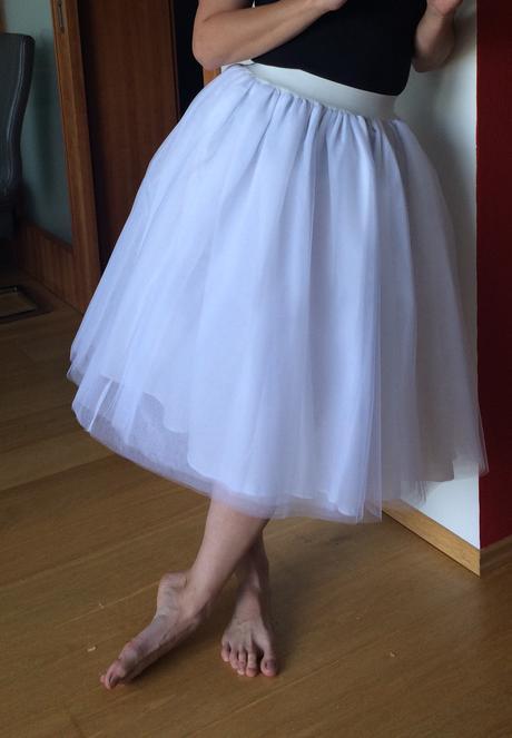 Tutu družičkovské sukne, 38