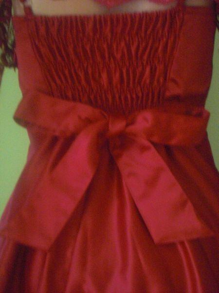 Cervene satenove satky, S/M, S