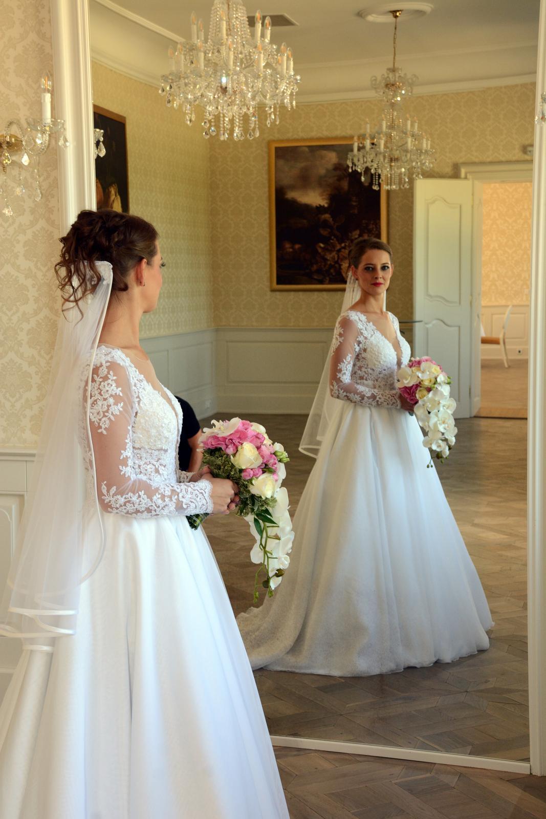 Luxusné svadobné šaty predaj aj požičanie  63dc6cb891d