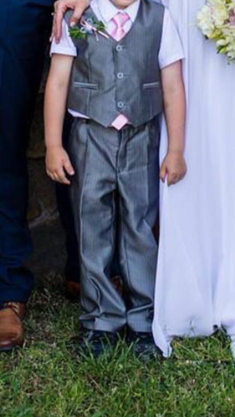 Dětský komplet, kalhoty plus vestička, 98