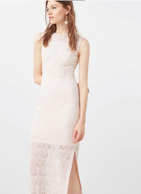 Čipkované vintage šaty zn.Mango, 42