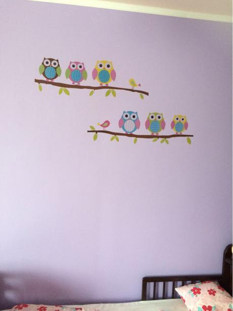 Nálepky na nábytok/stenu (nepouzite balenie),