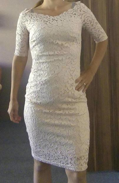 fa11370968af Nenosene čipkované orsay šaty (pošta v cene)